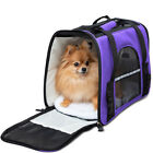 Pet Dog Cat Carrier Travel Bag Comfort Case Soft Sided Backpack Airline Approved