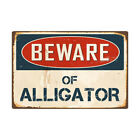 BEWARE OF SHARK,DINOSAMetal Sign Flag Plaque Bar Club Cafe Garage Wall Decor Art