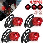 Bike Tail Light Bicycle LED 3 Mode Safety Rear Lamp Flashing Wraning Taillight