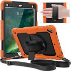 9.7 iPad 6th Gen Case Military Grade Protection Cover Full Body Armor Shockproof