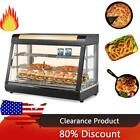 """15"""" 27"""" 35"""" Commercial Food Warmer Court Heat Food pizza Display Warmer Cabinet"""