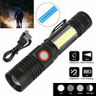 Super Bright 5000LM T6 LED Rechargeable Flashlight Zoomable Torch 18650 3 Modes