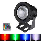1/2/3/4x 12V RGB LED Underwater Lights for Garden Pool Pond Tank Aquarium+Remote