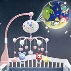 Baby Musical Mobile Projection Nursery Lights Bed Crib Cot with Remote Control☆