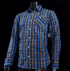 New Volcom Rondor Woven Bottom Up Classic Fit Mens L/S T Casual Shirt VLC-90