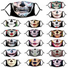 Halloween Zombie Skull Face Mask Reusable Washable Protection Cover Breathable