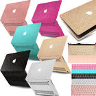 Bling Laptop Cut Out Hard Glitter Case KB Cover For Macbook Pro Air Retina/Touch