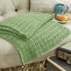 Herrschners® The Shells & Lace Throw Crochet Afghan Kit