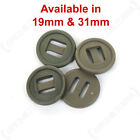 British Army Style Olive Bar Buttons 19mm 31mm Canadian Nato Soldier Surplus