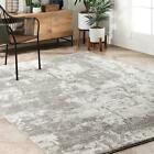 nuLOOM Gracelyn Muddled Abstract Area Rug in Silver
