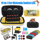 14in1 Storage Case Bag Hard Shell Cover Accessories Set for Nintendo Switch Lite