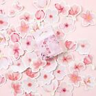 """Pink Sakura"" 45pcs Beautiful Sticker Scrapbooking Craft Decor Cute DIY Stickers"