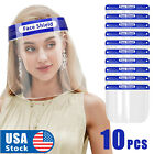Kyпить 10PCS Full Face Shield Reusable Washable Protection Cover Face Mask Anti-Splash на еВаy.соm