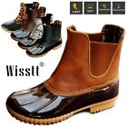 US Womens Waterproof Duck Boots Slip On Outdoor Hiking Snow Boot Rain Shoes Size