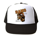 Trucker Hat Cap Foam Mesh School Team Mascot Rams Loud Proud
