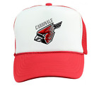 Trucker Hat Cap Foam Mesh School Team Mascot Cardinals Metal