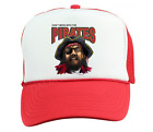 Trucker Hat Cap Foam Mesh School Team Mascot Pirates Don't Mess With