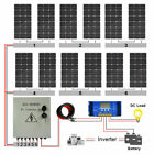 ECO100W 200W 300W 400W 500W 600W Watt Solar Panel Kit For RV Home Battery Charge
