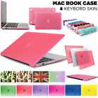 'Glossy Clear Case Cover + Keyboard Skin For Apple Macbook Air Pro 11 13 15 Inch