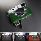 Leather Camera Case Bag Protective Cover Fit For Leica M10/M10-P Openning Bottom