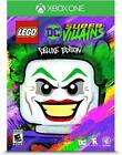 NEW LEGO DC Super Villains Deluxe Edition Microsoft Xbox One