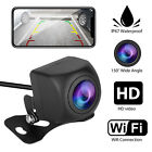 170° WiFi Wireless Car RearView Cam Backup Reverse Camera For iPhone Android ios