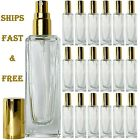 Empty Perfume Glass Bottles 30ml Highest Quality Atomizer Spray Refillable Usa