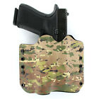 OWB Kydex Holster for Hanguns with OLIGHT PL-2RL BALDR - MULTICAM