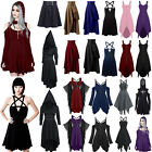 Women Vintage Gothic Punk Mini Dress Cosplay Party Fancy Outfits Costume Dresses