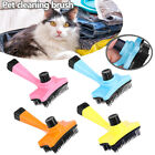 Handheld Manual Dog Cat Comb Pet Puppy Hair Grooming Cleaning Remover Brush UK