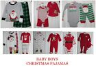 NWT Carter's Baby Boys Footed  2 Pcs Pajamas Christmas Newborn 3 6 9 18 24