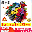 50 Pcs Wholesale Pet Dog Puppy Necktie Bow Tie Ties Collar Grooming out lot US