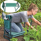 Portable Folding Garden Kneeler Foam Padded Seat Knee Pad Kneeling Stool Toolbag