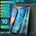 J10 Android 10 10GB RAM 512GB ROM WiFi 5G Phone Call Tablet  64GB TF Card HOT