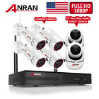 ANRAN 2.0MP Home 2Way Audio Wireless Security System CCTV WIFI In/Outdoor Camera