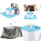 1.6L Pet Water Fountain For Cat Dog Automatic Water Drinking Bowl Dish Dispenser