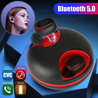 Wireless Bluetooth Earbuds Headset Stereo LED Touch Headphones Noise Cancelling