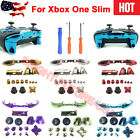 Bumper Trigger Thumbstick Button Replacement Kit Tool for XBOX One S Controller