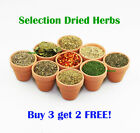 Dried Herbs - Selection | BUY 3 get 2 FREE | Premium Quality | *SPECIAL OFFER*
