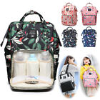 Baby Diaper Bag Mummy Maternity Backpack Nappy Nursing Tote Free USB Bottle Bag
