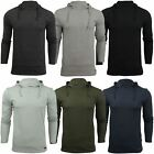 Mens Hooded T Shirt Brave Soul Morris Long Sleeve Track Top