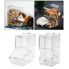 Birds Automatic Hamster Feeder Food Dispenser Feeding Bowl Guinea Pig Pigeon