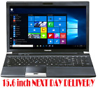 CHEAP TOSHIBA Laptop 15.6 inch Core i5 8GB RAM 500GB/SSD HDMI WebCam Win10