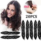 20PCS Hair Styling Rollers Soft Sleep Foam Pillow Hair Curler Rollers Sponge New