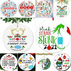 2020 Annual Events Pandemic Quarantine Christmas Ornament Funny Family Xmas Gift