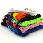 130CM Solid Color Oval Shoelace Tie DIY Sports Sneakers Shoestring Replacement