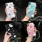 For iPhone 12 Pro Max 11 XS Max XR 6 7 8 Epoxy Glitter Sparkle Bling Case Cover