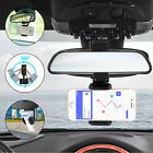 universal 360 car rearview mirror stand phone mount holder for iphone samsung