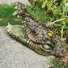 Floating Crocodile Head Ornament Animal Scared Repelent Home Garden Pond Decors