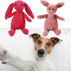 Cute Dog Pet Chew Toy Squeaker Squeaky Soft Plush Play Sound Puppy Teeth Toys